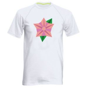 Men's sports t-shirt Angle Flower Abstraction - PrintSalon