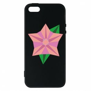 Phone case for iPhone 5/5S/SE Angle Flower Abstraction - PrintSalon