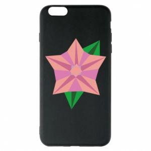 Phone case for iPhone 6 Plus/6S Plus Angle Flower Abstraction - PrintSalon