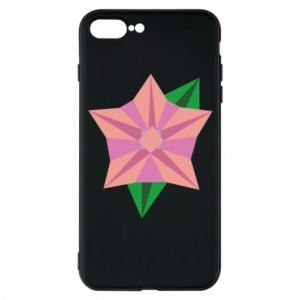 Phone case for iPhone 7 Plus Angle Flower Abstraction - PrintSalon