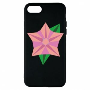 Phone case for iPhone 8 Angle Flower Abstraction - PrintSalon