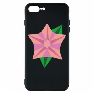 Phone case for iPhone 8 Plus Angle Flower Abstraction - PrintSalon