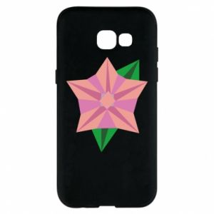 Phone case for Samsung A5 2017 Angle Flower Abstraction - PrintSalon