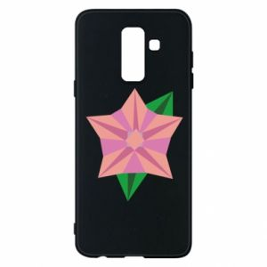 Phone case for Samsung A6+ 2018 Angle Flower Abstraction - PrintSalon