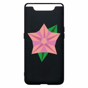 Phone case for Samsung A80 Angle Flower Abstraction - PrintSalon