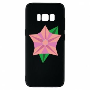 Phone case for Samsung S8 Angle Flower Abstraction - PrintSalon