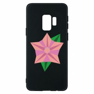 Phone case for Samsung S9 Angle Flower Abstraction - PrintSalon