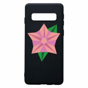 Phone case for Samsung S10 Angle Flower Abstraction - PrintSalon