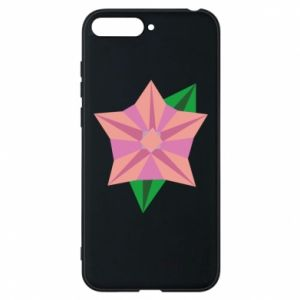 Phone case for Huawei Y6 2018 Angle Flower Abstraction - PrintSalon