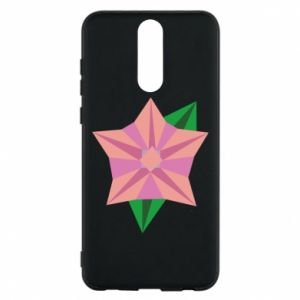 Phone case for Huawei Mate 10 Lite Angle Flower Abstraction - PrintSalon