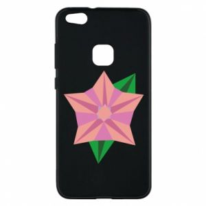 Phone case for Huawei P10 Lite Angle Flower Abstraction - PrintSalon