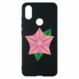 Phone case for Xiaomi Mi A2 Angle Flower Abstraction - PrintSalon