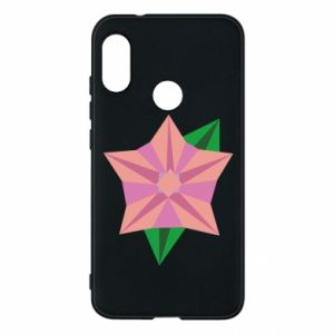 Phone case for Mi A2 Lite Angle Flower Abstraction - PrintSalon