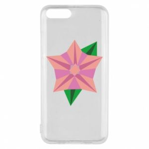 Phone case for Xiaomi Mi6 Angle Flower Abstraction - PrintSalon