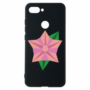 Phone case for Xiaomi Mi8 Lite Angle Flower Abstraction - PrintSalon
