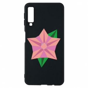 Phone case for Samsung A7 2018 Angle Flower Abstraction - PrintSalon