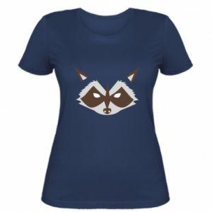 Damska koszulka Angle Raccoon