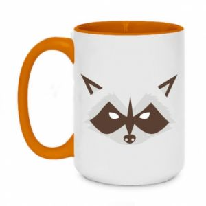 Kubek dwukolorowy 450ml Angle Raccoon