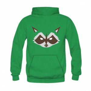 Bluza z kapturem dziecięca Angle Raccoon