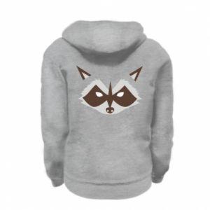 Bluza na zamek dziecięca Angle Raccoon