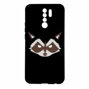 Etui na Xiaomi Redmi 9 Angle Raccoon
