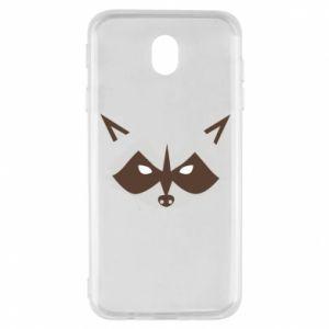 Etui na Samsung J7 2017 Angle Raccoon
