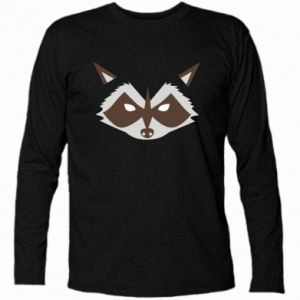 Koszulka z długim rękawem Angle Raccoon