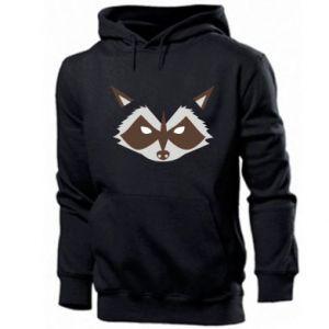 Męska bluza z kapturem Angle Raccoon