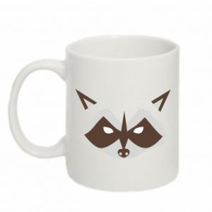 Mug 330ml Angle Raccoon