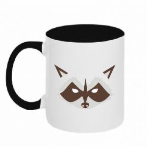 Kubek dwukolorowy Angle Raccoon