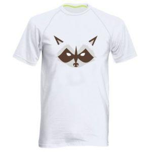 Męska koszulka sportowa Angle Raccoon