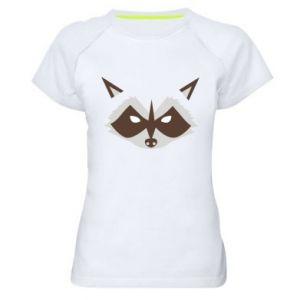 Damska koszulka sportowa Angle Raccoon