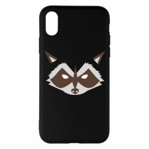 Etui na iPhone X/Xs Angle Raccoon
