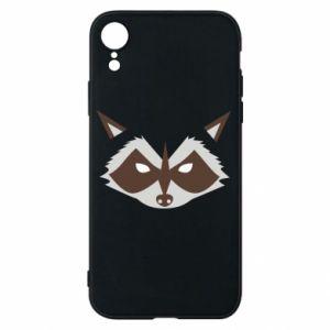 Etui na iPhone XR Angle Raccoon