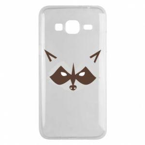 Etui na Samsung J3 2016 Angle Raccoon