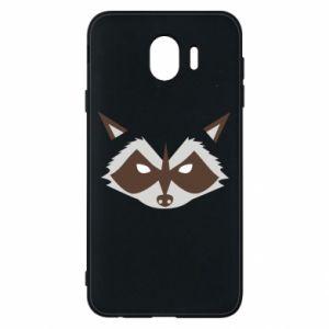 Etui na Samsung J4 Angle Raccoon