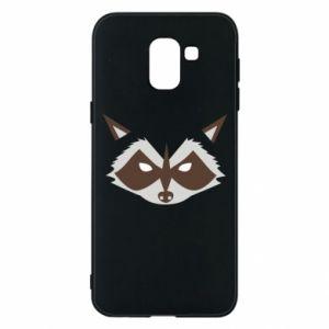 Etui na Samsung J6 Angle Raccoon