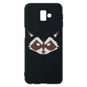 Etui na Samsung J6 Plus 2018 Angle Raccoon