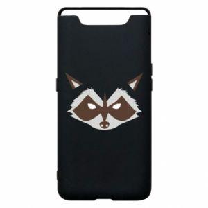 Etui na Samsung A80 Angle Raccoon