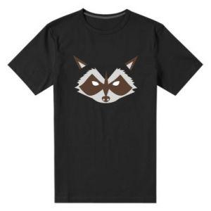Męska premium koszulka Angle Raccoon
