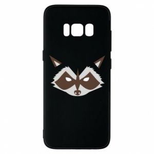 Etui na Samsung S8 Angle Raccoon