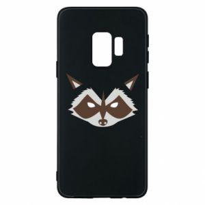 Etui na Samsung S9 Angle Raccoon