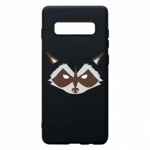 Etui na Samsung S10+ Angle Raccoon