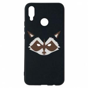 Etui na Huawei P Smart Plus Angle Raccoon