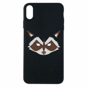 Etui na iPhone Xs Max Angle Raccoon