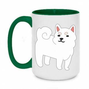 Kubek dwukolorowy 450ml Angry dog