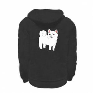 Bluza na zamek dziecięca Angry dog