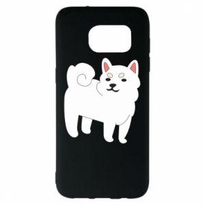 Etui na Samsung S7 EDGE Angry dog
