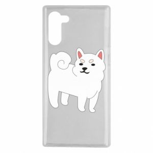 Etui na Samsung Note 10 Angry dog