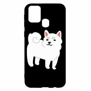 Etui na Samsung M31 Angry dog